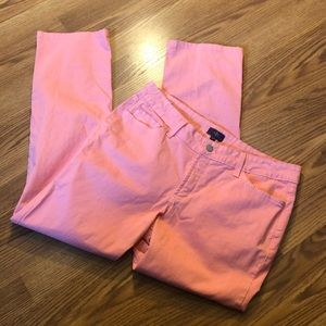 NYDJ Pink Marilyn Straight Jeans size 12P!!!